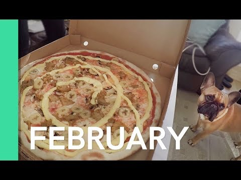 THE MOST COMMON SWEDISH PIZZA - FEBRUARY 2018 Monthly favorites - Melodifestivalen, Ella Grundel