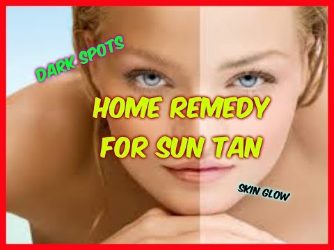 Home remedy to remove Sun tan   Get Spotless and fair skin with this homemade pack! Angels reborn