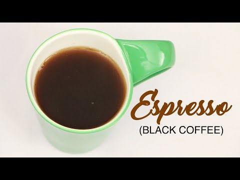 Homemade Espresso (Black Coffee) Without Coffee Maker | How to Make Black Coffee | WOW Recipes