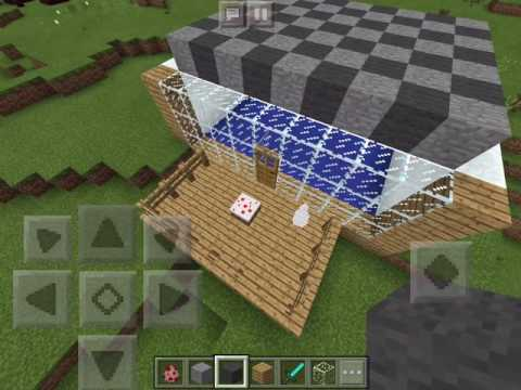 How to make Stampy's bedroom - Minecraft PE