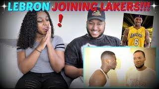"""Rdcworld1 """"how All The Teams Reacted To Lebron Going To The Lakers"""" Reaction!!!"""