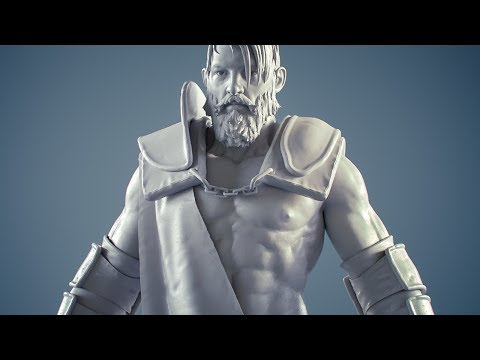Modeling Realistic Characters with Blender - Course Teaser