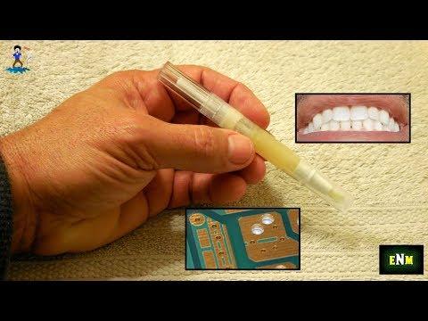 Teeth Whitening Pen Hack(Paste Flux or Grease)