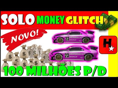 GTA 5 SOLO Money GLitch *NOVO* | Glitch Duplicar Carros Solo | New GTA 5 EASIEST Solo Money Glitch