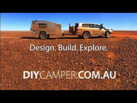 DIY home made off-road camper trailer