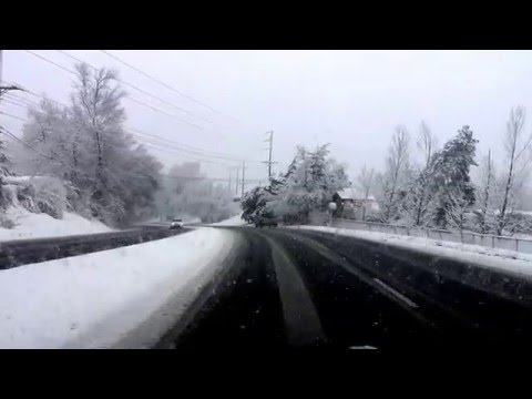 Snow Driving Fail in Utah (Part 5)