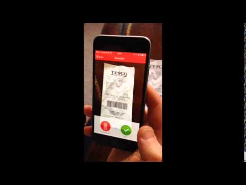 How to snap a Receipt with the Reep Rewards App