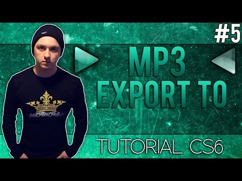 How To Export to MP3 in Adobe Audition CS6 - Tutorial #5