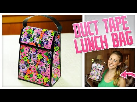 DIY Duct Tape Lunch Bag! - Do It, Gurl