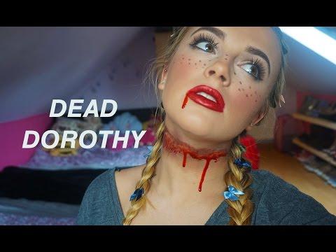 Dead Dorothy Tutorial // Halloween Series