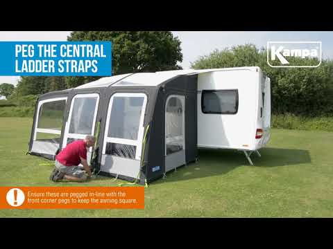 Kampa  Rally AIR Pro Plus  Setup  Takedown Masterclass 2018