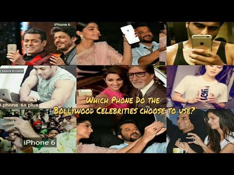 Which Phone Do the Bollywood Celebrities choose to use?