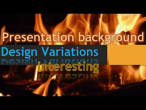How to Easily Create Interesting Presentation Background Variation - Basic Tutorial PowerPoint