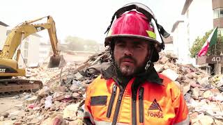 In earthquake