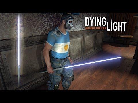 LIGHTSABER IN DYING LIGHT!