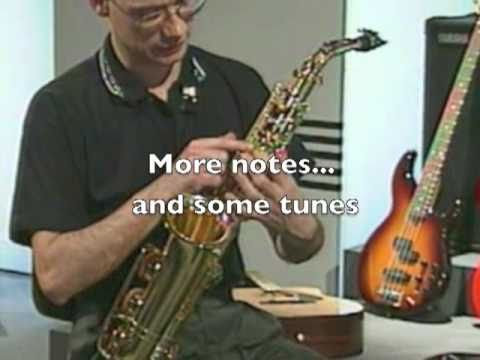 Saxophone DVD Overview