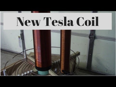 New Tesla coil!!