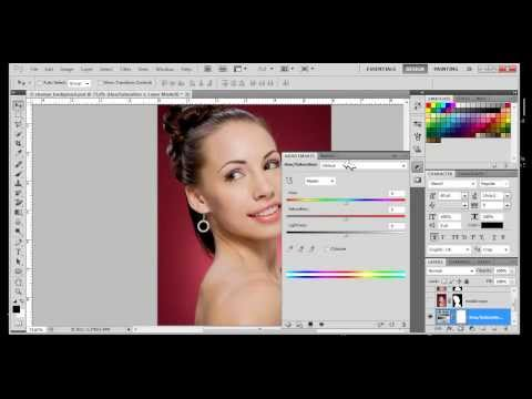how to change background color with photoshop cs4 cs5 cs6 | Photoshop CS5 Tutorial