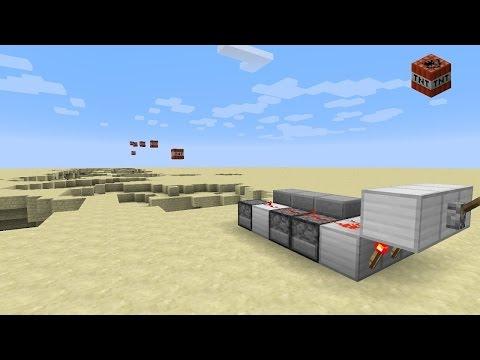 Minecraft 1.12 - Long range rapid fire TNT cannon (1.10+)