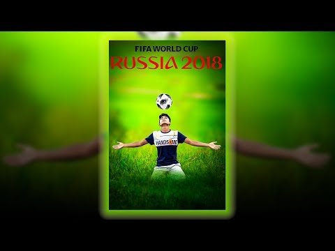 Russia Football World Cup 2018 Special Photoshop Manipulation Tutorial