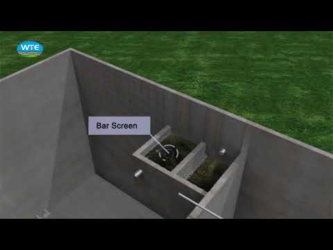Sewage Treatment Plant Animation