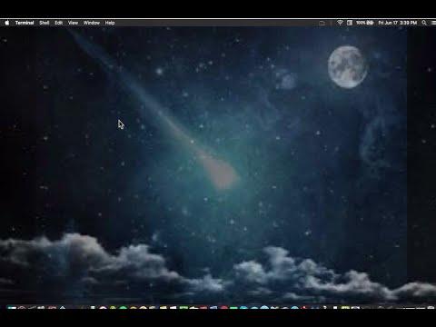 Live/Moving Wallpaper for Mac OS (ScreenSaver Wallpaper)