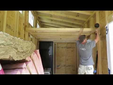 Tiny House Loft Part 1