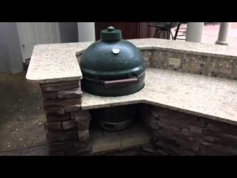 Southern Hardscapes Summer Kitchen