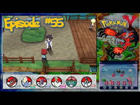 Pokemon Y - Couriway Town, Rematch With Augustine Sycamore - Episode 55