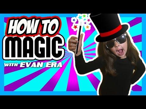 5 EASY Magic Tricks for Kids - How To Magic!