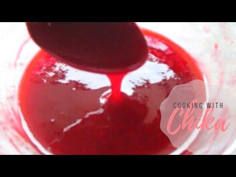 Fresh Raspberry Sauce – Raspberry Coulis Recipe   Borrowed Delights - Episode 70