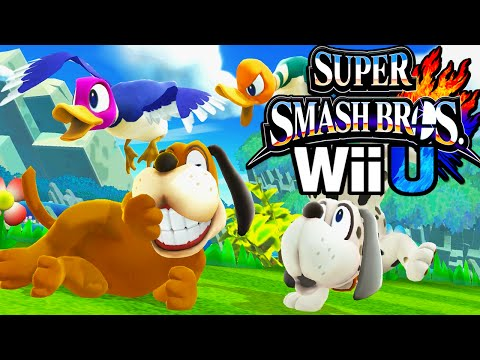 Super Smash Bros 4 Wii U Duck Hunt! Dog Zapper New Character Unlock HD Gameplay Walkthrough PART 3