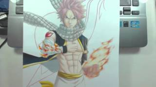 Speed Drawing Natsu Dragneel Fairy Tail Challenge D Y P
