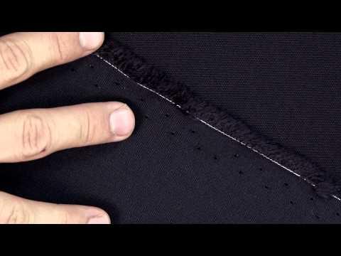 Video of Sunbrella Canvas Navy 5439-0000 - Furniture Fabric