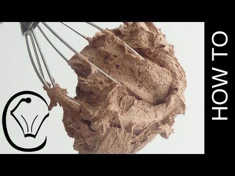 Delicious Chocolate Buttercream Frosting How To by Cupcake Savvy's Kitchen