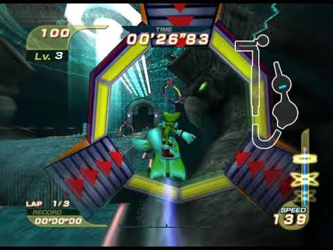 Sonic Riders: Training the most difficult glitch in the game