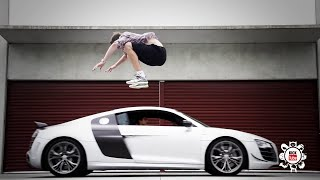 Amazing  Jump Over Cars Compilation 2016