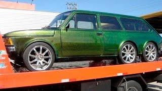 Carros Tunados Modificações Engraçadas #4