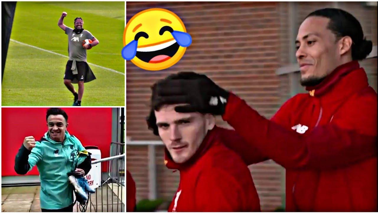 Inside Liverpool Training: Funny Moments, Crazy skills, Hard work. Salah, Van Dijk, Shaqiri and more