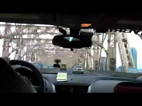 New York City taxi ride to JFK Airport