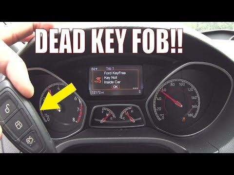 What Happens If The Key Fob Dies While Driving? [Focus ST/RS]