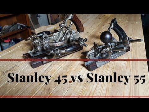 Comparison Between Stanley 45 and Stanley 55