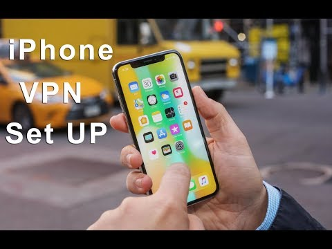 How to set up VPN on my iPhone