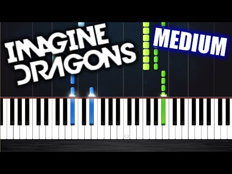 Imagine Dragons - Whatever It Takes - Piano Tutorial (MEDIUM) by PlutaX