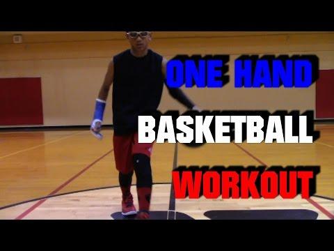 One Hand (Weak Hand) Basketball Workout