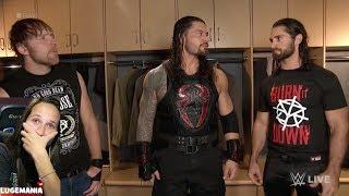 WWE Raw 10/2/17 The Shield Reunites