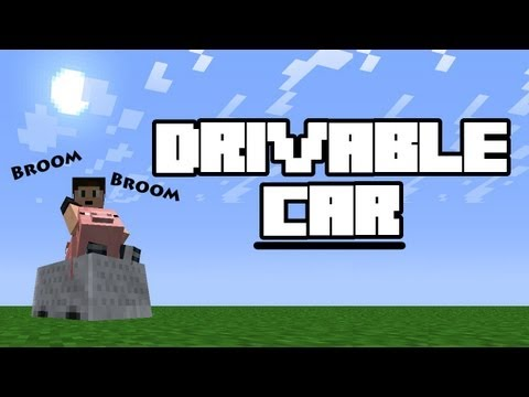 Minecraft 1.2.5   Drivable Car + No more Powered Rails Needed! (TUTORIAL)