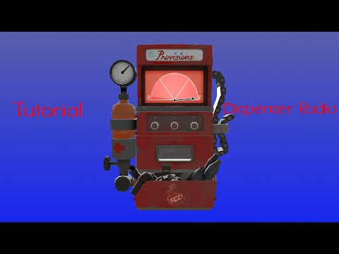 How to make your own dispenser radio in TF2 (Tutorial)