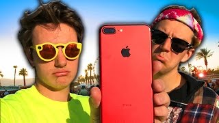 I Got My iPhone Stolen at Coachella (man with 100 phones)