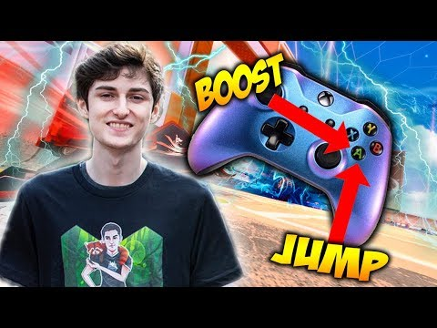 NOOB VS PRO - BOOST AND JUMP ARE THE SAME BUTTON!